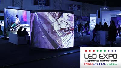 LED EXPO LIGHTING EXHIBITION PERU: EMPRESAS II - 2014