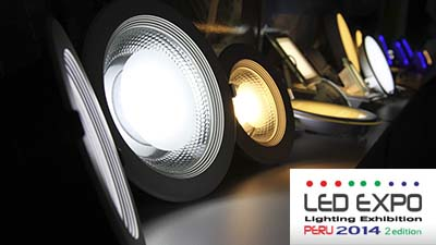 LED EXPO LIGHTING EXHIBITION PERU: EMPRESAS I - 2014